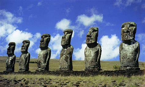The Statues and Rock Art of Rapa Nui - Easter Island