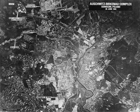 Aerial Photographs of Auschwitz   Through the Lens of