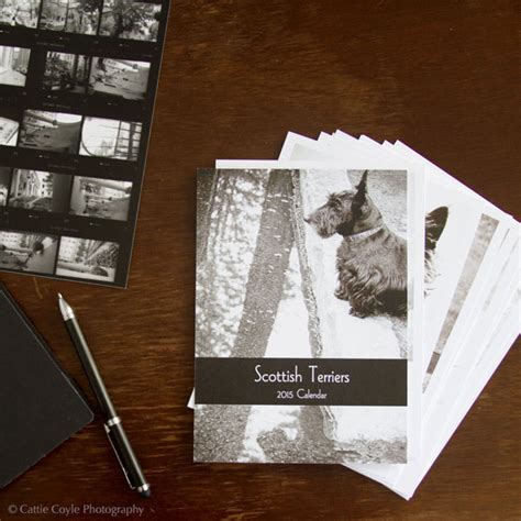 The 2014 Holiday Card Collection and 2015 Scottish Terrier