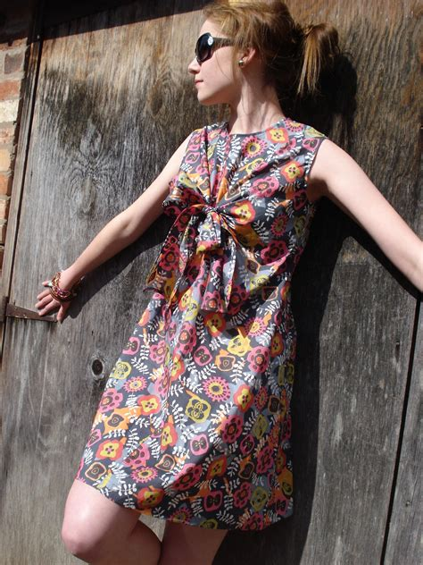 Sweet Disposition - Pattern Magic Knot Dress – Sewing