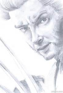 How to Draw a Realistic Face Sketch of Wolverine