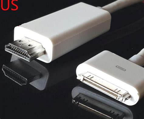 30 Pin Dock Connector to HDMI TV Cable Adapter for iPad 2