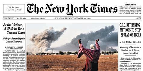 New York Times Prints Huge Mistake On Front Page