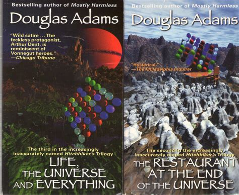 Complete Set Series - Lot of 7 Hitchhiker's Guide to the