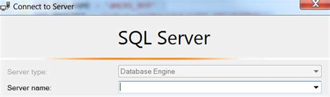 ssms - Cannot connect to MSSQL server management studio as
