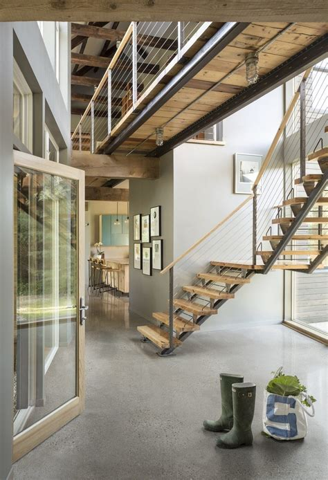 Family Farmhouse Built With Salvaged Materials from an