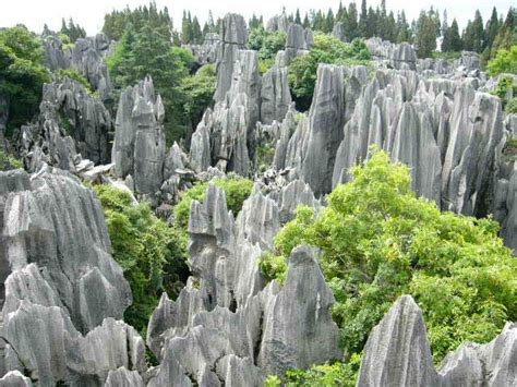 Shilin Stone Forest China - Geological Landscapes