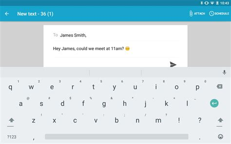 SMS Texting from Tablet & Sync for Android - APK Download
