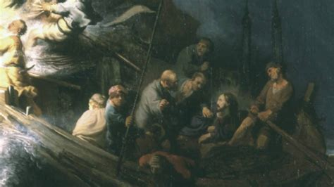 'The Storm On The Sea Of Galilee' By Rembrandt van Rijn