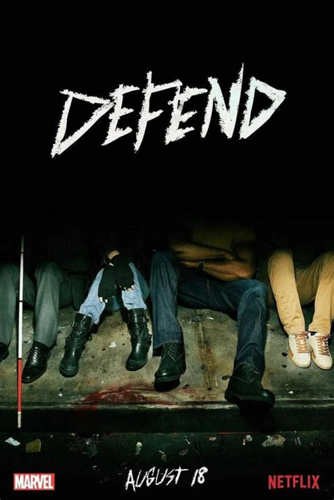 The Defenders gets a toe-tally awesome poster as new