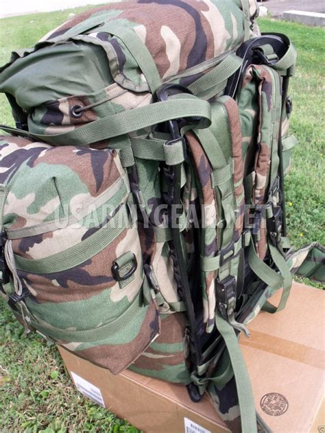 Made in USA Army Molle II Woodland Rucksack, Backpack