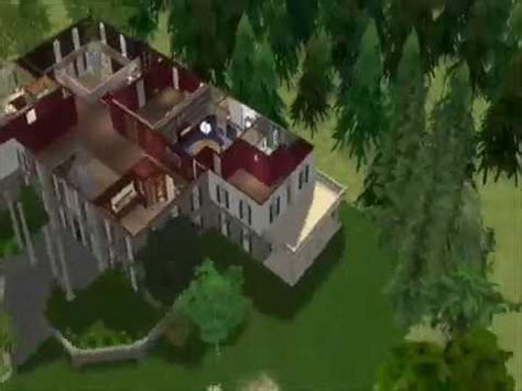 Sims 2 Pretty Little Liars: Spencer's House - YouTube
