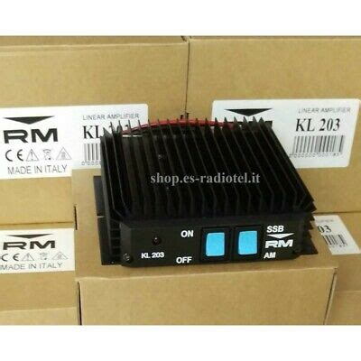 KIT Linear Amplifier RM Italy KL703 + Professional Power