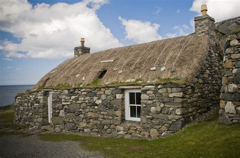 Walk Report - THATCHED HOUSES IN ARNOL, ISLE OF LEWIS