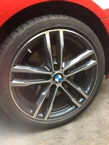 4 - BMW 704M 19 INCH DOUBLE SPOKE WHEELS ALLOYS AND TYRES