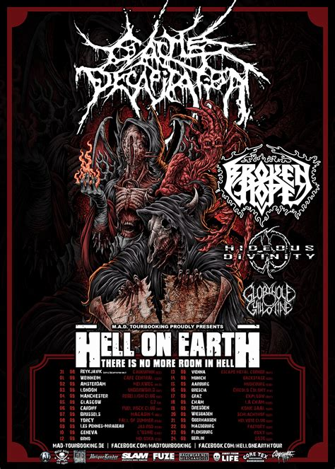 HELL ON EARTH TOUR | M