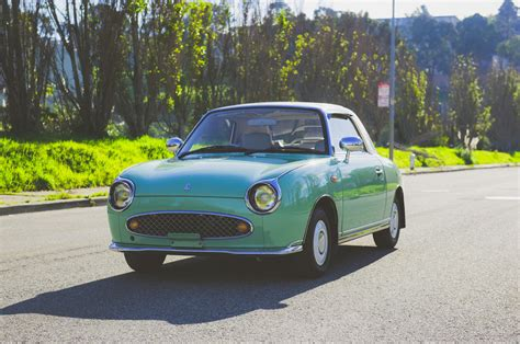 Just Listed: 1991 Nissan Figaro Is Adorable in All the