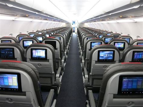 US Airways A319s Will Be Getting New Seats, Extra Legroom