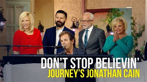 Don't Stop Believin' Performed By Journey's Jonathan Cain